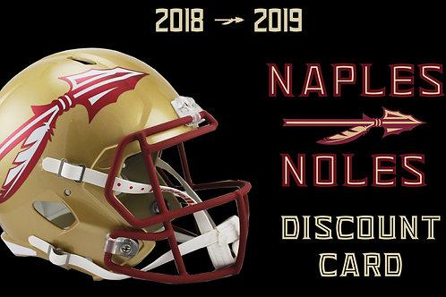 2018-19 Discount Card