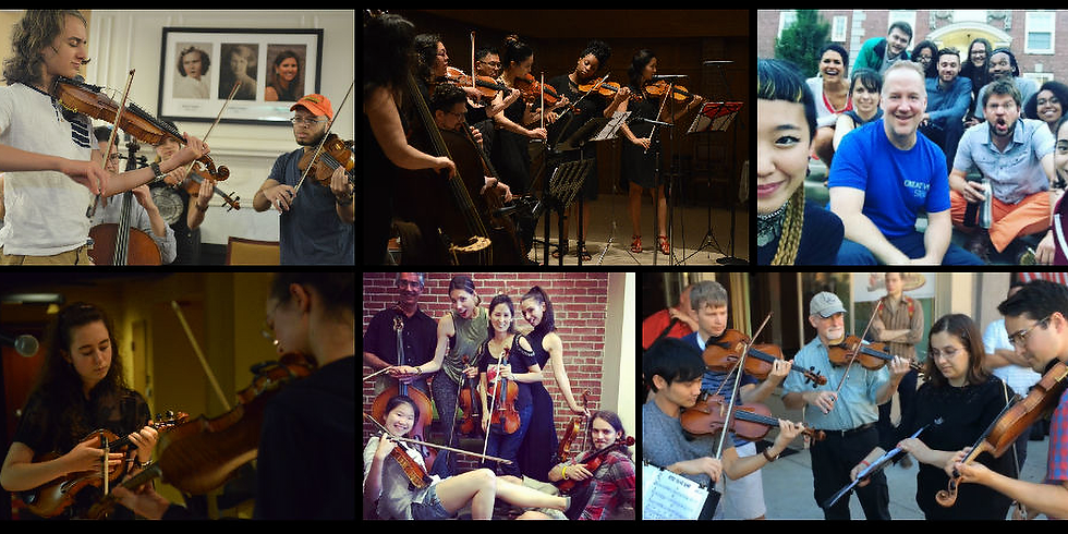 2019 Creative Strings Festival (Faculity)