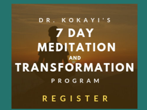 Live Meditation: Open Heart Series