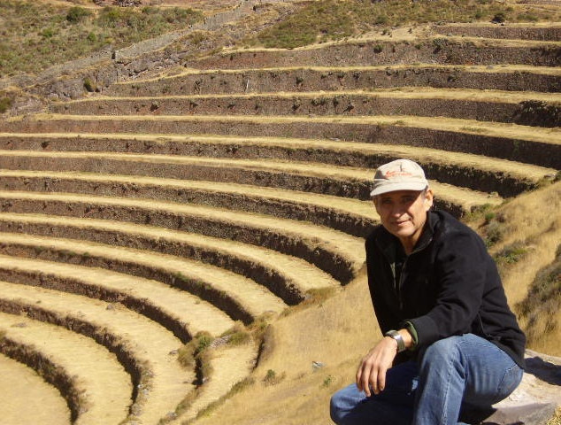 Ron in Sacred Valley Peru