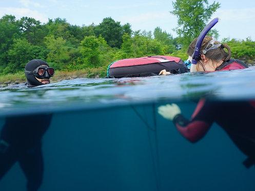 Cours de Freediver semi-privé/Semi-Private Freediver Course