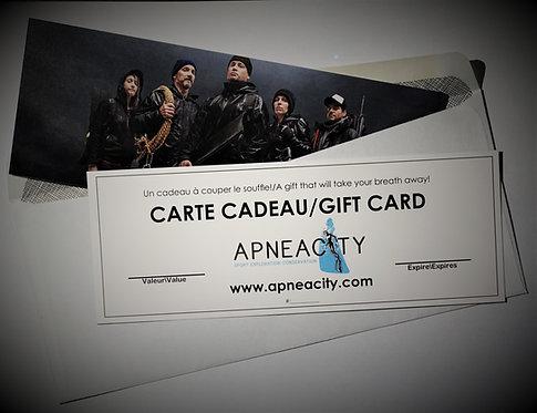 CARTE CADEAU/GIFT CARD