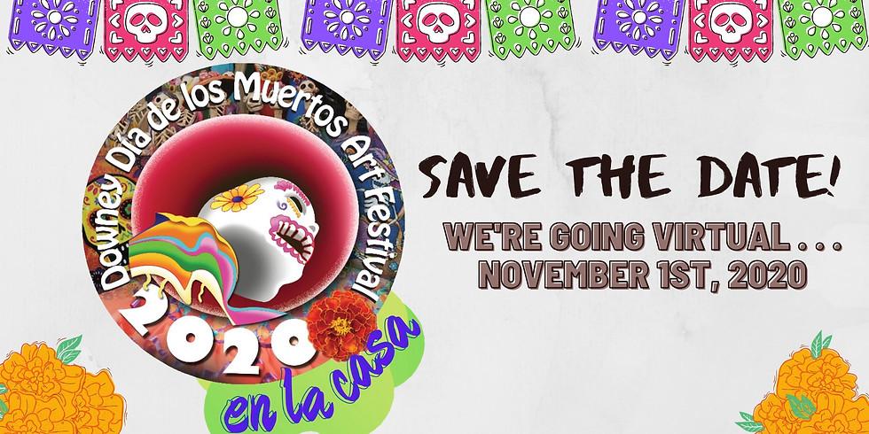 7th annual Downey Dia de Los Muertos Art Festival