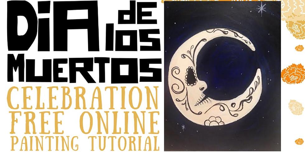 Dia de Los Muertos Painting Tutorial