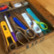 sewing tools, handbag making, bag making, ruler, succors, tape measure, work table, sewing table