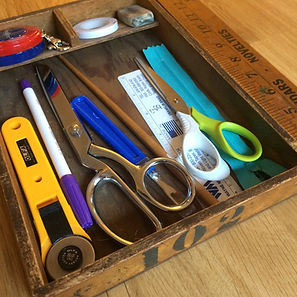 My sewing tools
