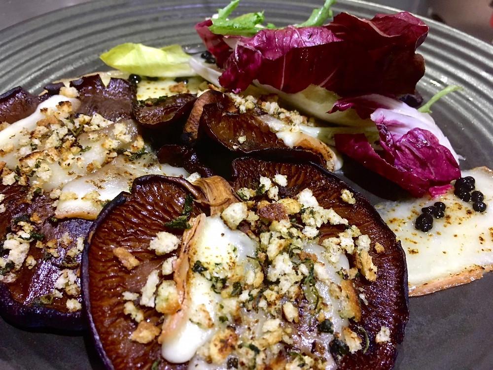 Stuffed Portobello Mushrooms Taleggio / Herb Breadcrumb / Aged Balsamic Vinegar / Thyme