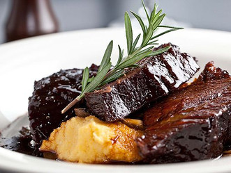 T'is the week fore Winter... we can't wait to open presents ~ Beef Cheeks are on