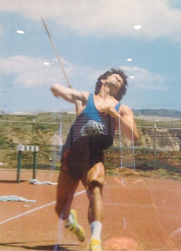 Picture of Nigel Stainton as an Athlete.