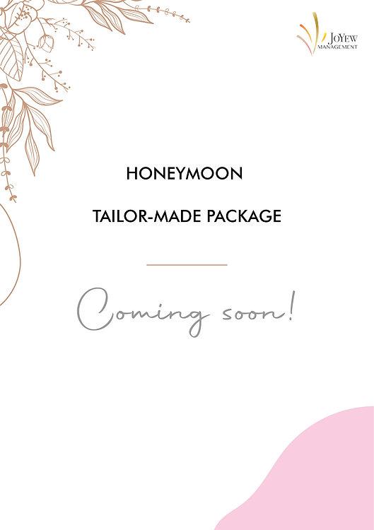 Honeymoon Tailor-made package