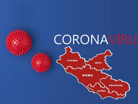 Covid: Nel Lazio scende a 0,9 il valore RT e il rapporto tra positivi e tamponi sotto il 10%