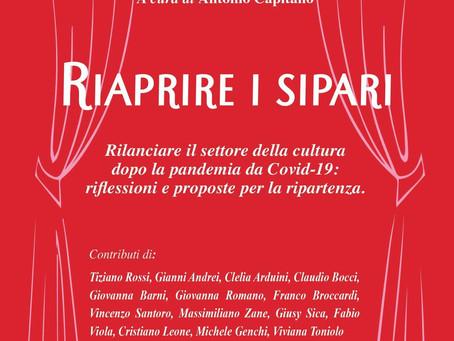 """Tivoli: """"Riaprire i Sipari"""", appuntamento del Caffè Culturale domenica 9 maggio alle ore 18"""