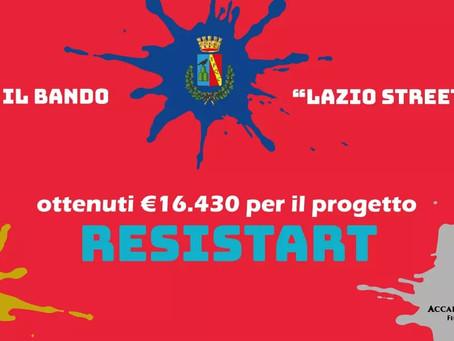 """Guidonia Montecelio: Vinto il bando regionale """"Street Art"""" con il progetto """"Resistart"""""""