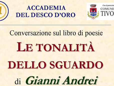 Tivoli: Gianni Andrei presenterà il suo nuovo libro il 27 febbraio nella Sala Roesler Franz