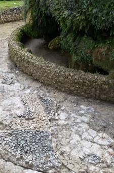 Tivoli: Villa D'Este, emerso un mosaico durante alcuni interventi di restauro