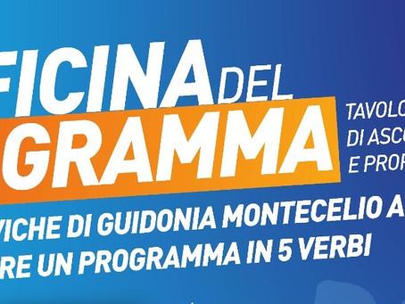 Guidonia Montecelio: L'Officina del Programma riflette sul futuro del territorio