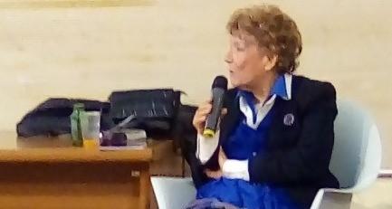 """Tivoli: Dacia Maraini ha presentato ieri alle Scuderie Estensi il suo nuovo libro """"Trio"""""""