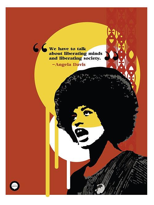 Angela Davis - Print