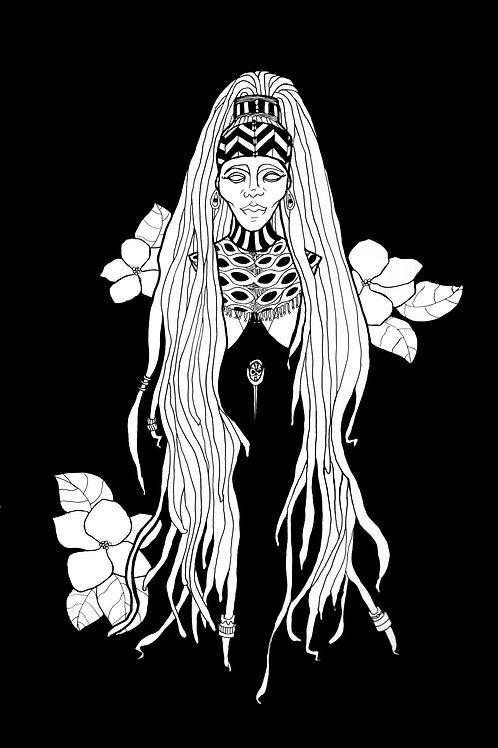 Woman of Earth - Print