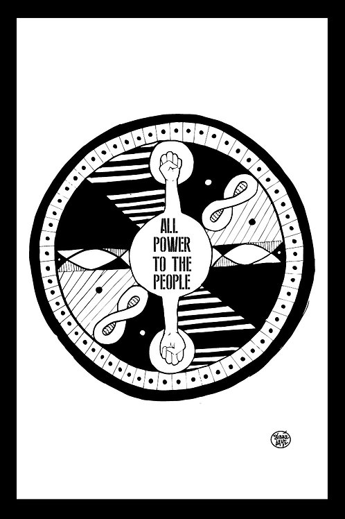 Power to the People - Print