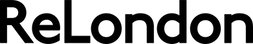 This is an image of the ReLondon logo, which is black text on ReLondon