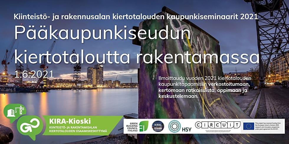 Building a circular economy in the Helsinki metropolitan area