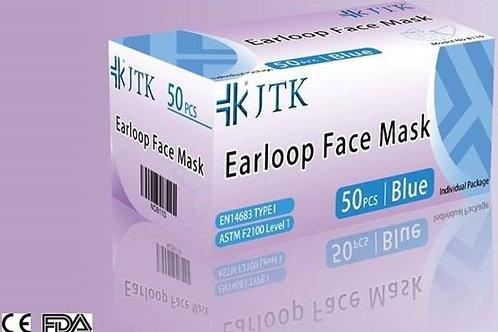 JTK 50個裝三層成人口罩 (每盒 50 個計) (5100113)