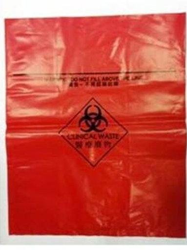 100 個裝紅色醫療廢物袋 (每 500 個計)(3010610-02)