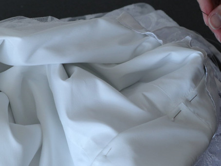 Making of a Bridal Gown Part 5: Bodice Lining & Facing