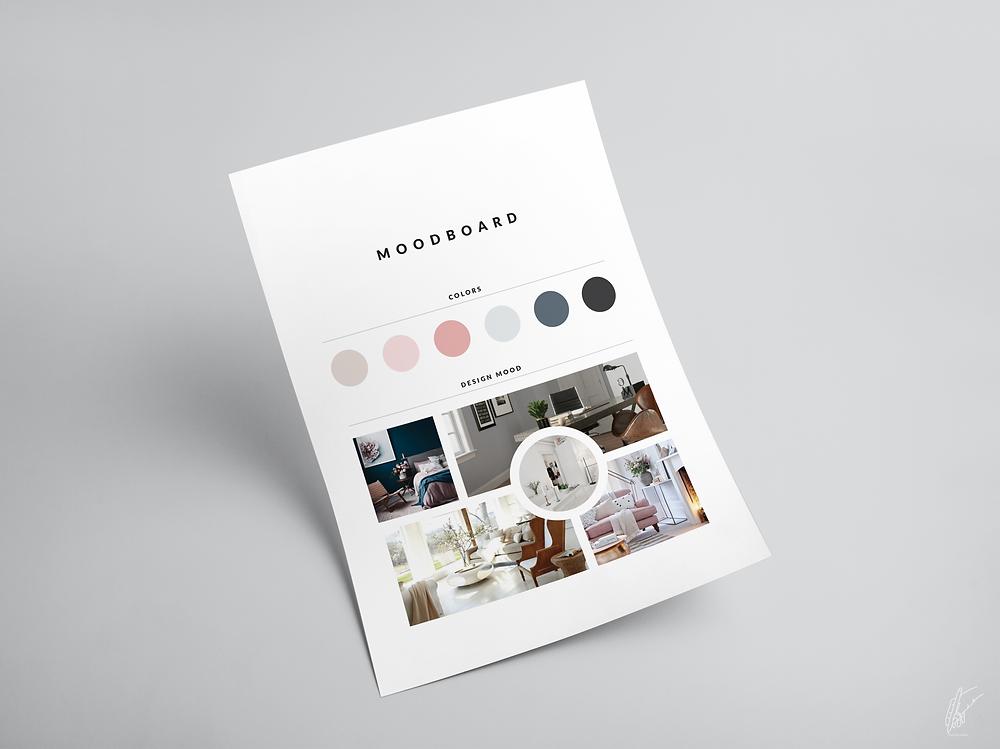 moodboard, graphic design