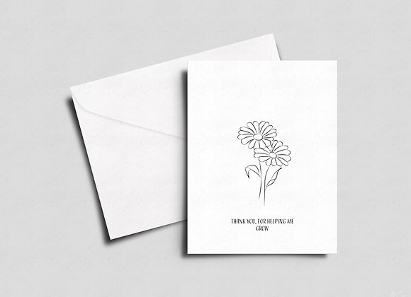 Give a Card that Grows- into Daisies