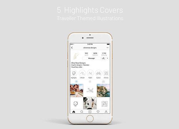 Highlight Covers - Traveller Themed