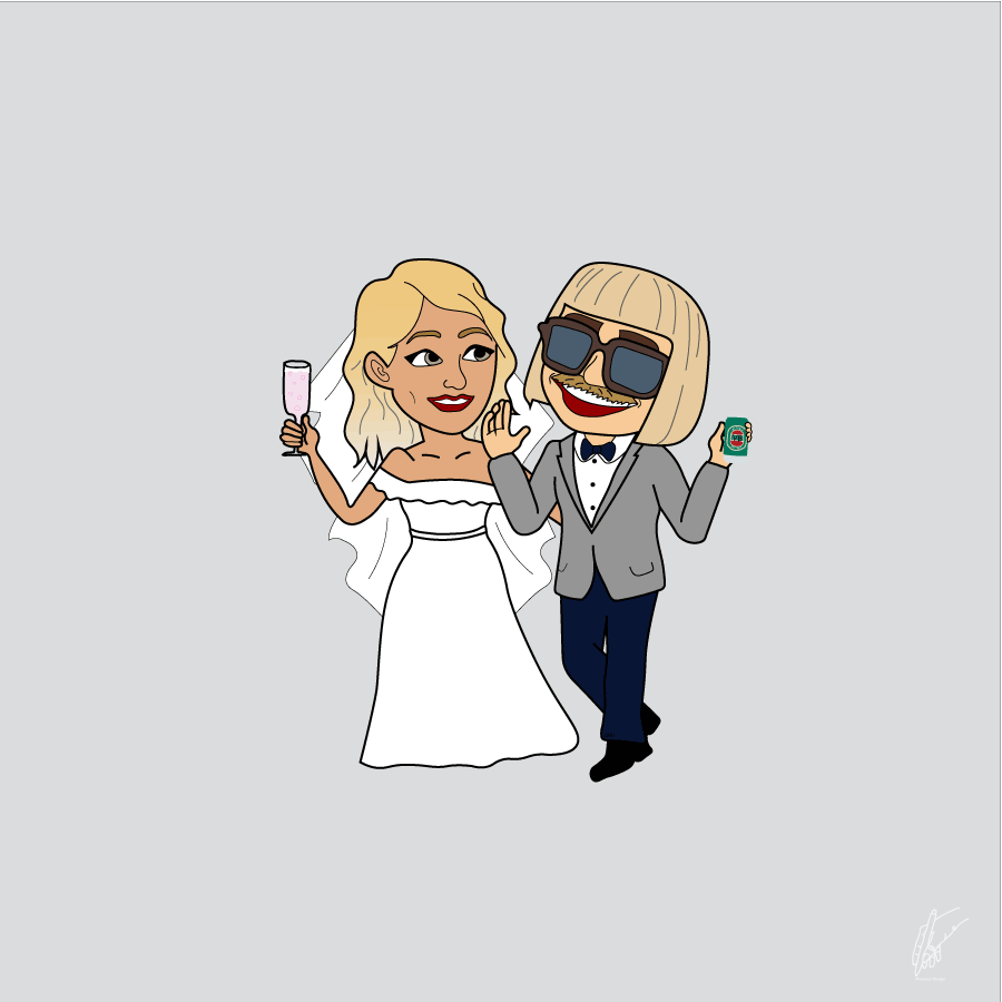 Oliverosedesigns, emoji, weddingemoji, wedding