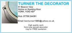 Turner The Decorator