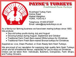 Paynes Turkeys