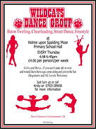 Wildcats Dance Group Holme 30 Oct 2018 -