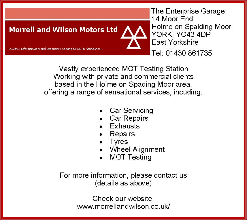 Morrell and Wilson Ltd