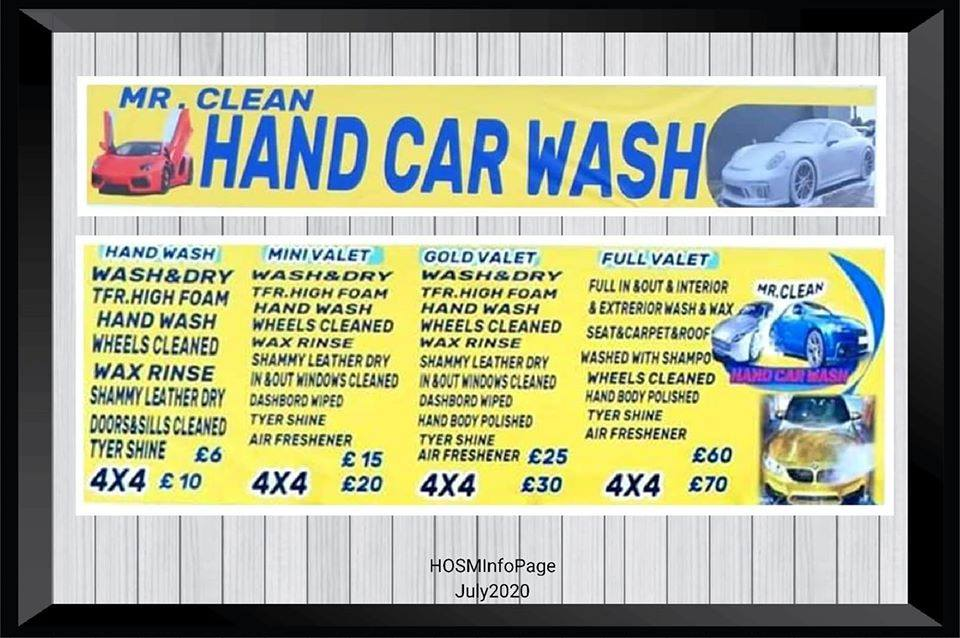 Mr Clean Hand Car Wash MW