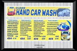 Mr Clean Hand Car Wash MW