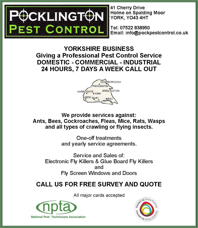 Pocklington Pest Control