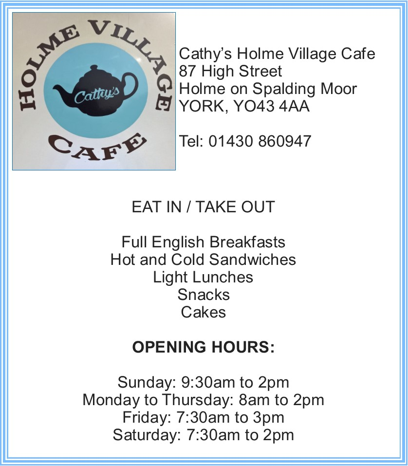 Cathy's Holme Village Cafe