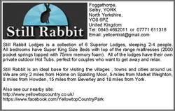 Still Rabbit Lodges