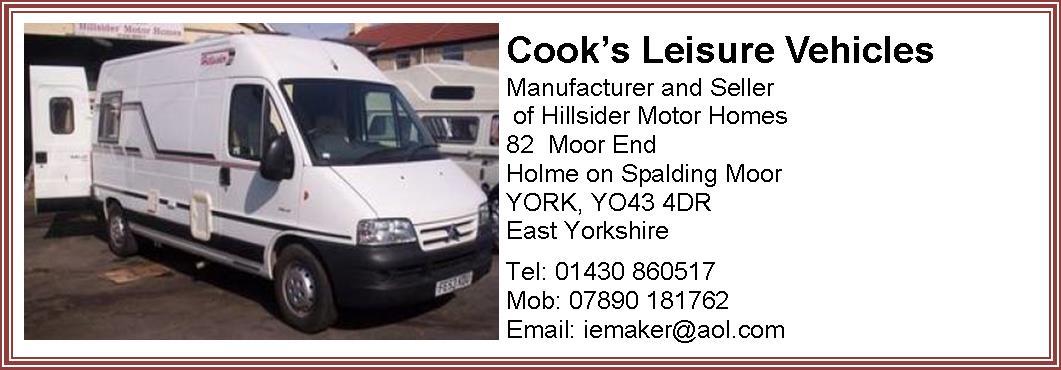 Cooks Leisure Vehicles