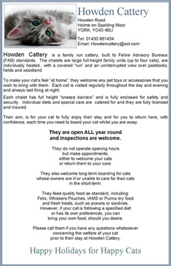 Howden Cattery