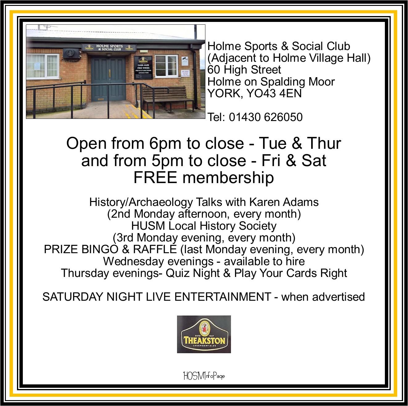 Holme Sports & Social Club
