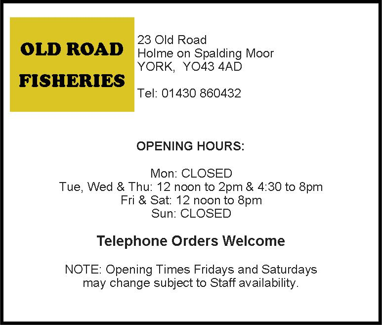 Old Road Fisheries