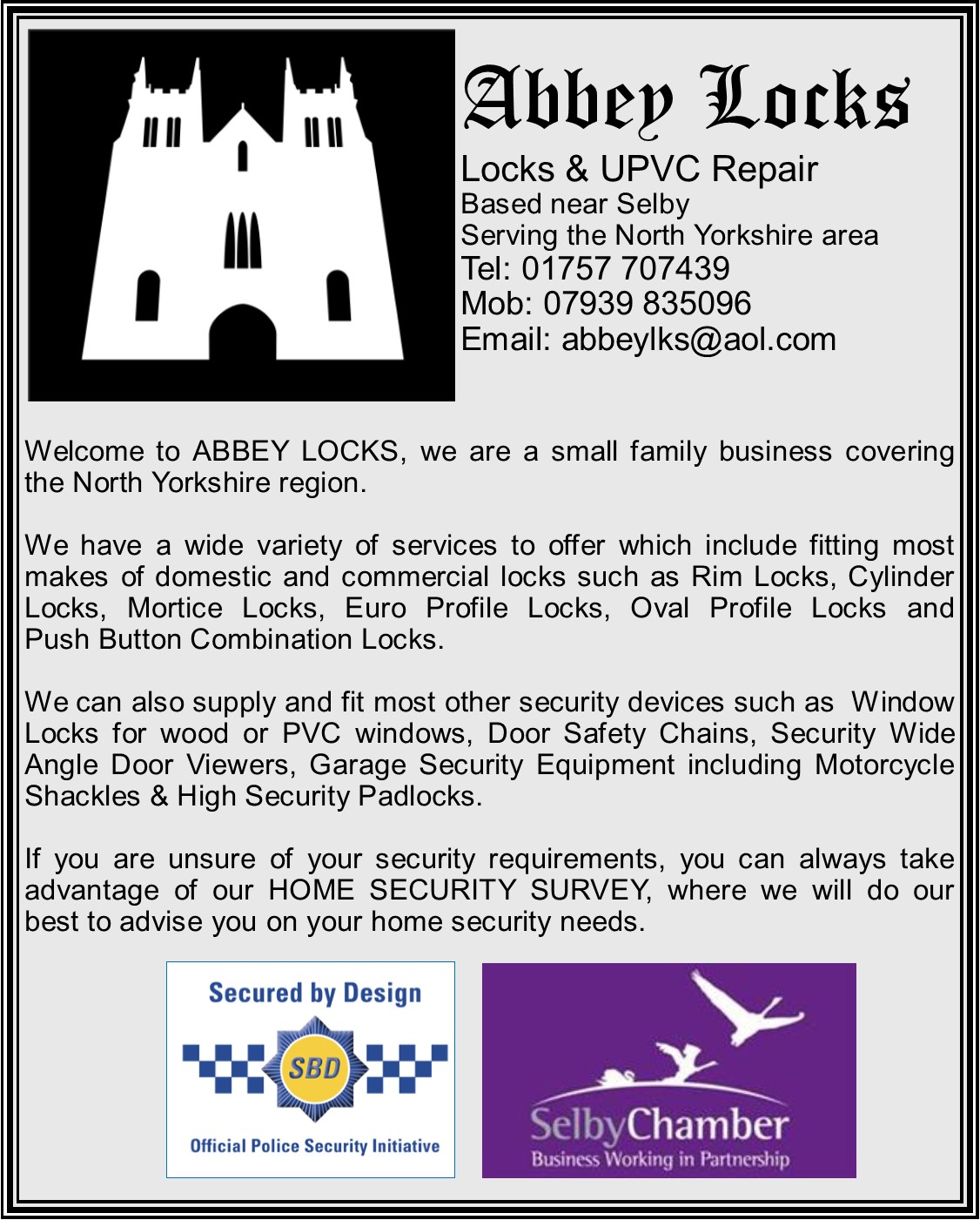 Abbey Locks
