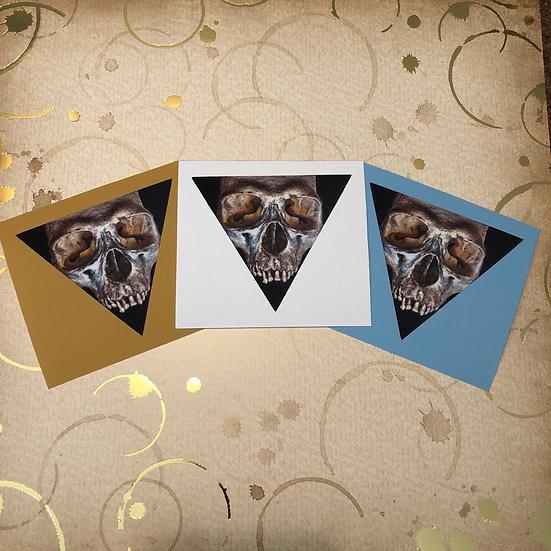 Triangle Skull Mini Print
