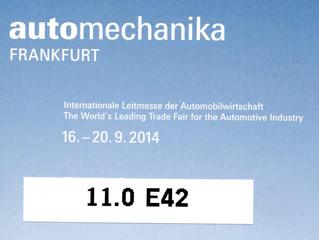 Presenti all' automechanika di Frankfurt