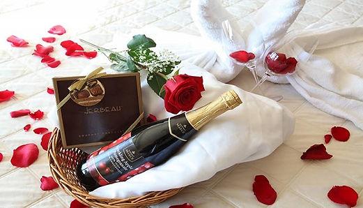 Valentines Day Menu & Suite Information.